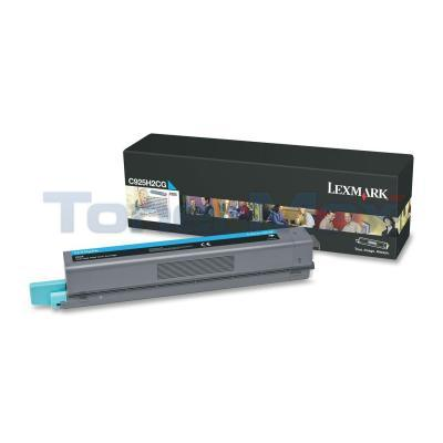 LEXMARK C925 TONER CART CYAN HY